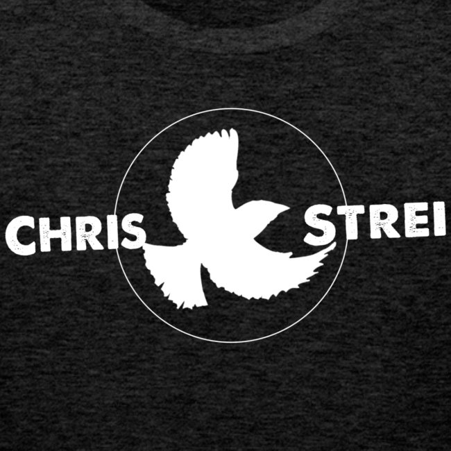 Chris Strei BlackBird Logo (white)