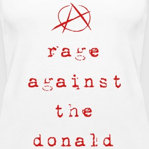 rage against the donald - Women's Premium Tank Top