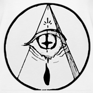 occult eye - Women's Premium Tank Top
