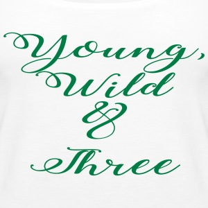 Young Wild Three - Women's Premium Tank Top