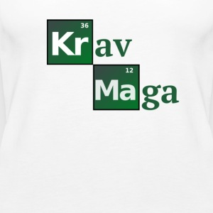 Krav Maga Periodic Table of the elements - Women's Premium Tank Top