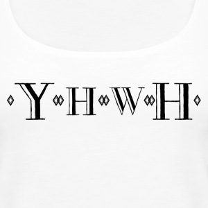 YHWH - Women's Premium Tank Top