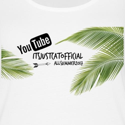 itsjustcatofficial youtube tank - Women's Premium Tank Top