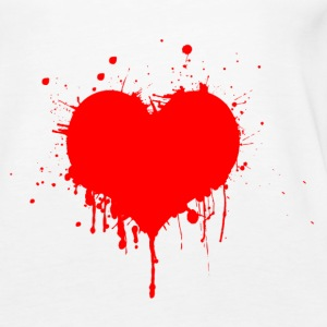 Painted Art Heart - Women's Premium Tank Top