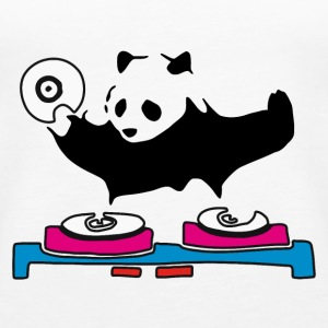 DJ Panda House Music - Women's Premium Tank Top