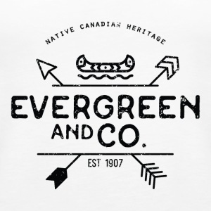 Evergreen and Co. Classic Canoe - Women's Premium Tank Top