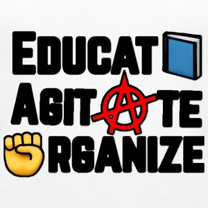 Educate, Agitate, Organize - Women's Premium Tank Top