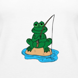 Frog Fishing - Women's Premium Tank Top