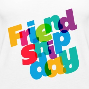 colorful-friendship-day - Women's Premium Tank Top