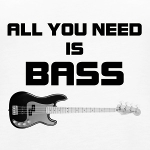 Need bass black - Women's Premium Tank Top