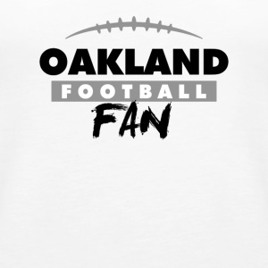 Oakland Football Fan - Women's Premium Tank Top