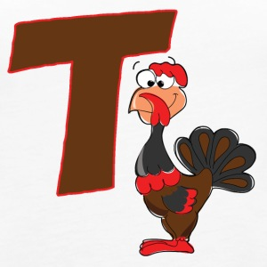 T Is For Turkey - Women's Premium Tank Top