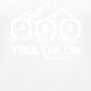 Triathlon Tee & Hoodie - Women's Premium Tank Top