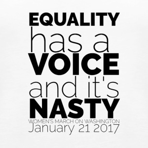 Equality Has A Voice 1 - Women's Premium Tank Top