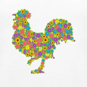 Chicken Tee Shirt - Women's Premium Tank Top