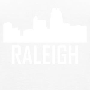 Raleigh North Carolina City Skyline - Women's Premium Tank Top