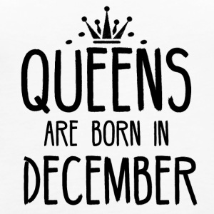 Queens are born in December - Women's Premium Tank Top