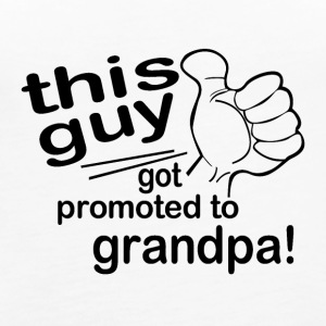 Promoted to Grandpa - Women's Premium Tank Top