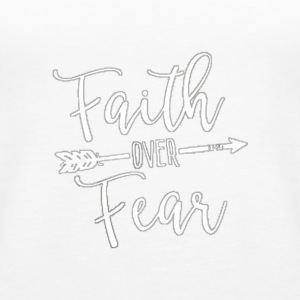 faith over fear - Women's Premium Tank Top