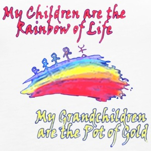 Grandkids are the Pot of Gold - Women's Premium Tank Top