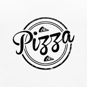 Vintage Pizza - Women's Premium Tank Top