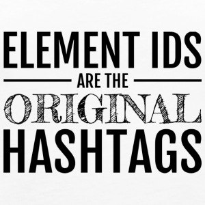 The Original Hashtags - Women's Premium Tank Top