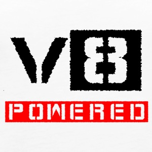 V8 powered red - Women's Premium Tank Top