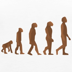 EVOLUTION OF MAN AND WOMAN! - Women's Premium Tank Top
