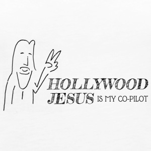 Hollywood Jesus Horizontal - Women's Premium Tank Top
