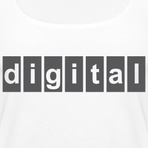 DIGITAL T Shirt - Women's Premium Tank Top