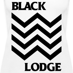 Black Lodge - Women's Premium Tank Top
