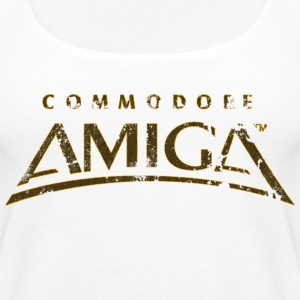 Commodore Amiga Vintage T Shirt - Women's Premium Tank Top