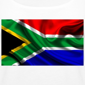 South-African-Flag - Women's Premium Tank Top