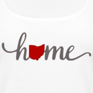 Ohio Heart Home - Women's Premium Tank Top