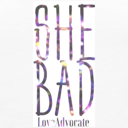 She bad - Women's Premium Tank Top