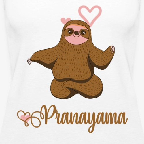 Pranayama - Women's Premium Tank Top