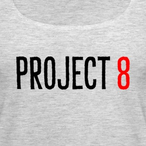 PROJECT 8 BLACK TEXT - Women's Premium Tank Top