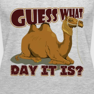 Guess What Day It Is Camel Hump Day T Shirt - Women's Premium Tank Top