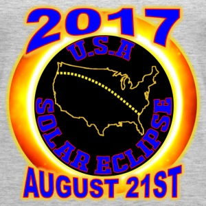 2017 USA Total Solar Eclipse Star Gaze August 21st - Women's Premium Tank Top