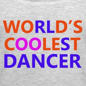 coolest dancer design - Women's Premium Tank Top