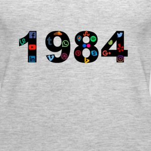 Social Media New 1984 T-Shirt - Women's Premium Tank Top