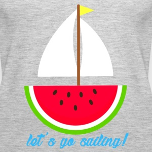 Watermelon Boat - Women's Premium Tank Top