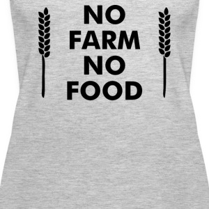 No Farms No Food - Women's Premium Tank Top