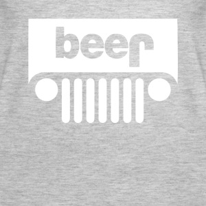 Funny BEER JEEP - Women's Premium Tank Top