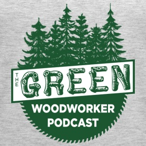 The Green Woodworker Podcast - Women's Premium Tank Top