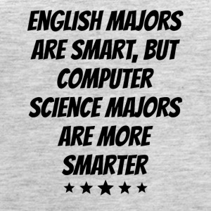 Computer Science Majors Are More Smarter - Women's Premium Tank Top