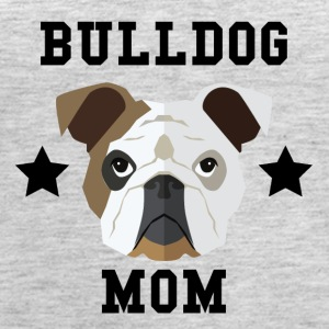 Bulldog Mom Dog Owner - Women's Premium Tank Top
