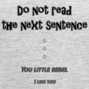 If You Read The Next Sentence... - Women's Premium Tank Top