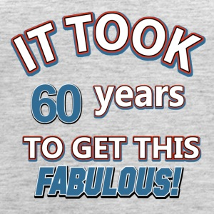 60th birthday presents - Women's Premium Tank Top