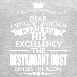 RESTAURANT HOST - EXCELLENCY - Women's Premium Tank Top